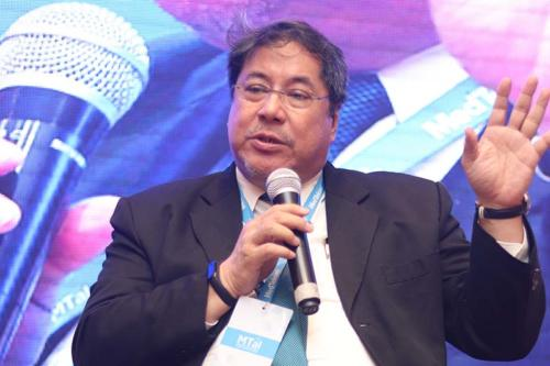 Dr Teodoro J Herbosa, Executive Vice President, University of Philippines speaking during the session at MTaI MedTekon 2018
