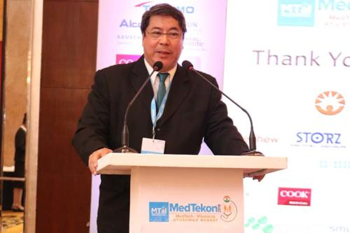 Keynote Address by Guest of Honour - Dr Teodoro J. Herbosa, Executive Vice President, University of Philippines at MTaI MedTekon 2018